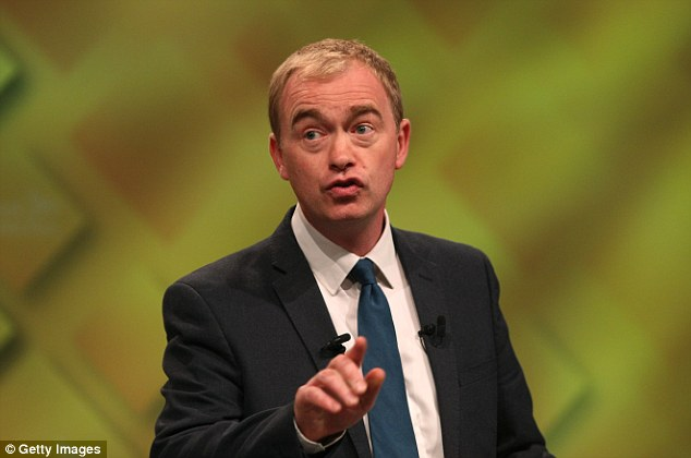 Liberal Democrat leader Tim Farron hit out at the government and blamed the 'chaos' on Brexit