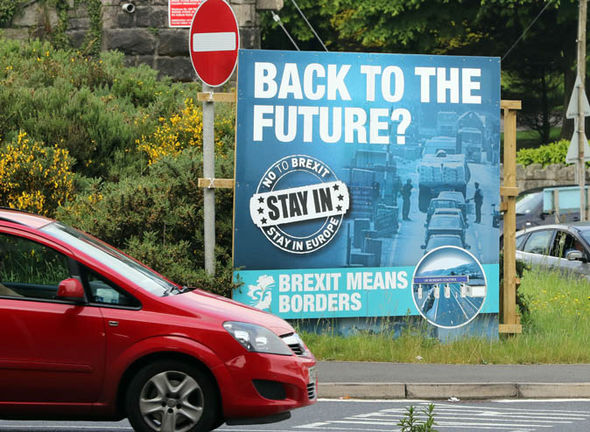 Northern Ireland EU referendum campaign