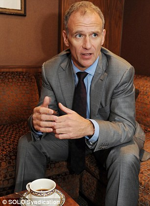 Taking a hard line: Tesco chief executive Dave Lewis worked for Unilever for 27 years