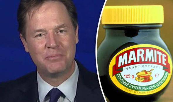 Nick Clegg marmite