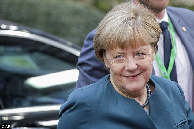 German businesses have been reminding Chancellor Angela Merkel, seen at the summit in Brussels last week, of the value of exports to the UK